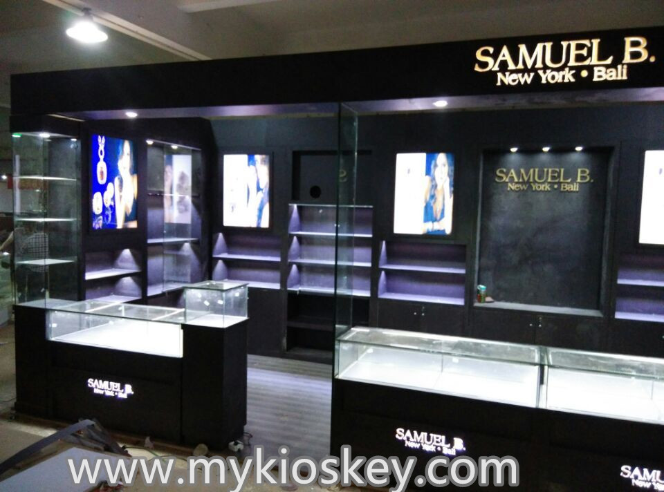 Exhibition Booth Usa : Usa high end black jewelry display booth for exhibition