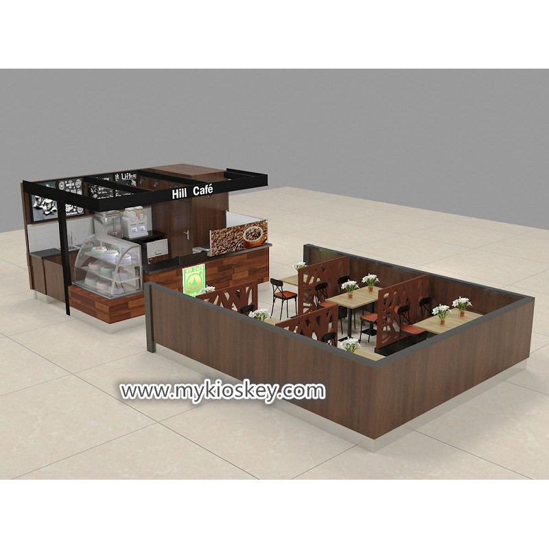 Unique wood food counter shop coffee bar furniture on sale